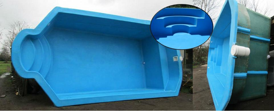 Fibracenter chile piscinas en fibra de vidrio piezas a pedido for Fabricacion de piscinas