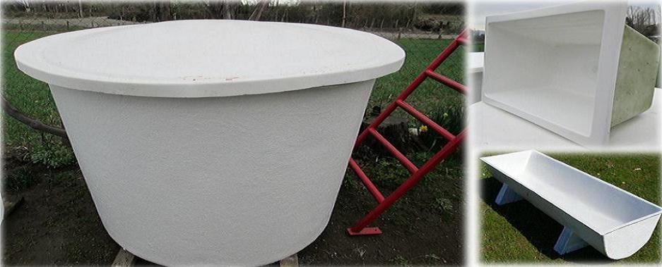 Fibracenter chile piscinas en fibra de vidrio piezas a pedido for Estanques industriales